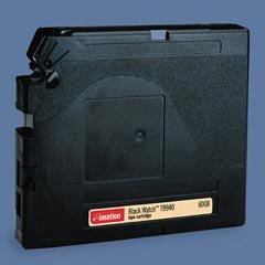Imation 41334 - 1/2 Inch, 9940 Data Cartridge, Black Watch, 60/240GB, Option 03/1 Initialized