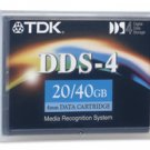 TDK 27505 DC4-150 -  4mm, DDS-4 Data Cartridge, 150m, 20/40GB