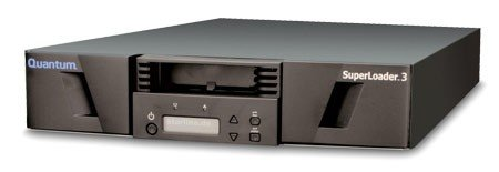 Quantum EC-LLHAE-YF - LTO5, Tape Autoloader, Superloader 3, 12/24TB