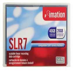 "IMATION 41461 -  20/40GB SLR 7 5.25"" Data Tape Cartridge"