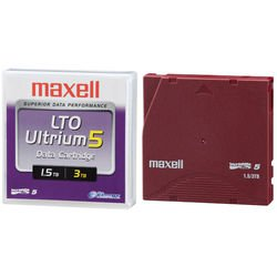 Maxell 229323 -  LTO-5 Tape,  Ultrium Data Cartridge, 1.5 TB / 3.0 TB