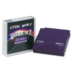 TDK D2405-LTO2  Ultrium-2 200/400GB Data Tape Cartridge