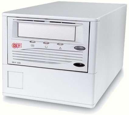 HP TR-S23BA-CM - Super DLT 320, EXT. Tape Drive, 160/320GB