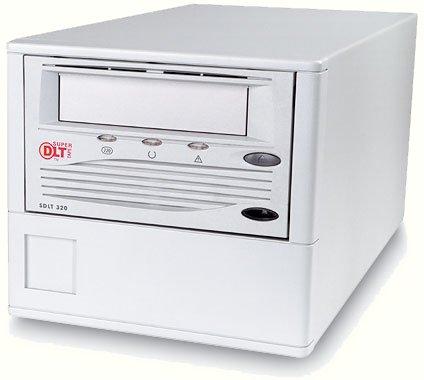 Tandberg TR-S12BA-TM - Super DLT 220, EXT. Tape Drive, 110/220GB