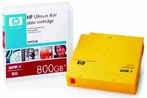 HP C7973A LTO3 Tape Ultrium-3 400/800GB Data Cartridge Media