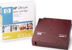 HP C7972A 200/400GB LTO2 ULTRIUM DATA CARTRIDGE