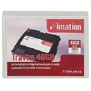 Imation 42467 - Travan 40, TR40, TR-7, 20/40GB Data Cartridge Tape
