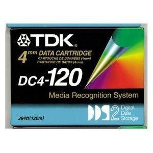 TDK DC4-120 -  4mm, DDS-2 Data Cartridge, 120m, 4/8GB