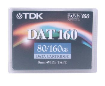 TDK 27822 - Data Cartridge Tape, 4mm DDS-6, DAT160, 160m, 80/160GB