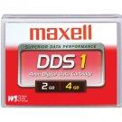 Maxell 331910 -  4mm, DDS-1 Data Cartridge, 90m, 2/4GB