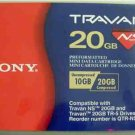 Sony QTRNS20 - Travan, TR5 Tape Cartridge,  NS20,  20GB