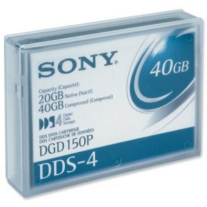 Sony DGD150P -  4mm, DDS-4 Data Cartridge, 150m, 20/40GB Sony DGD150P -  4mm, DDS-4 Data Cartridge
