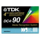 TDK DC4-90 -  4mm, DDS-1 Data Cartridge, 90m, 2/4GB