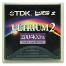 TDK  27694 - Data Cartridge Tape, LTO-2, Ultrium-2, 200/400GB