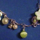 Dangling Colorful Cat's Eye Anklet - Avon