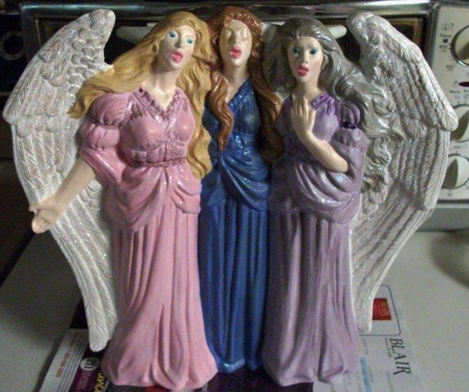 Maiden, Mother & Crone Angel Trio Centerpiece