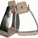 lightweight angled aluminum roper stirrups #2212661