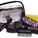 Bling Zebra 6 pcs Grooming Kit    #388620z