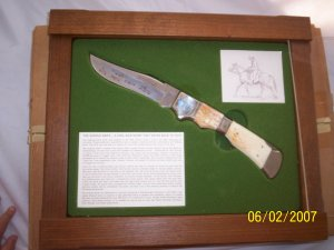 Collectible THE SADDLE KNIFE