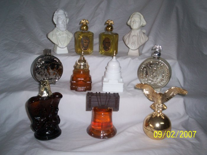 Avon Decanter Perfume Bottles All Original in Boxes
