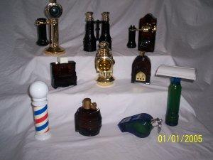 Avon Decanter Perfume Bottles All Original in Boxes