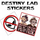 Destiny Lab stickers