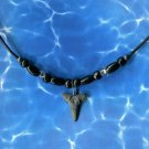 Fossilized Bull Shark Tooth Necklace