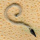 Fossil Crinoid Arrowhead Pendant Necklace