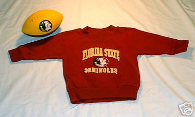 L@@K! Boys Girls FSU Sweatshirt FREE BALL 6 month