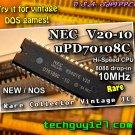 uPD70108 NEC V20 -10 MHz  CPU 8088 NEC V20 uPD70108 -10