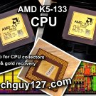 AMD K5-PR133 ABR K5 ABR 133MHz CPU Processor Gold