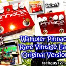 Wampler PINNACLE Overdrive Distortion - with Lead Solo Boost & bRoWn sOUND