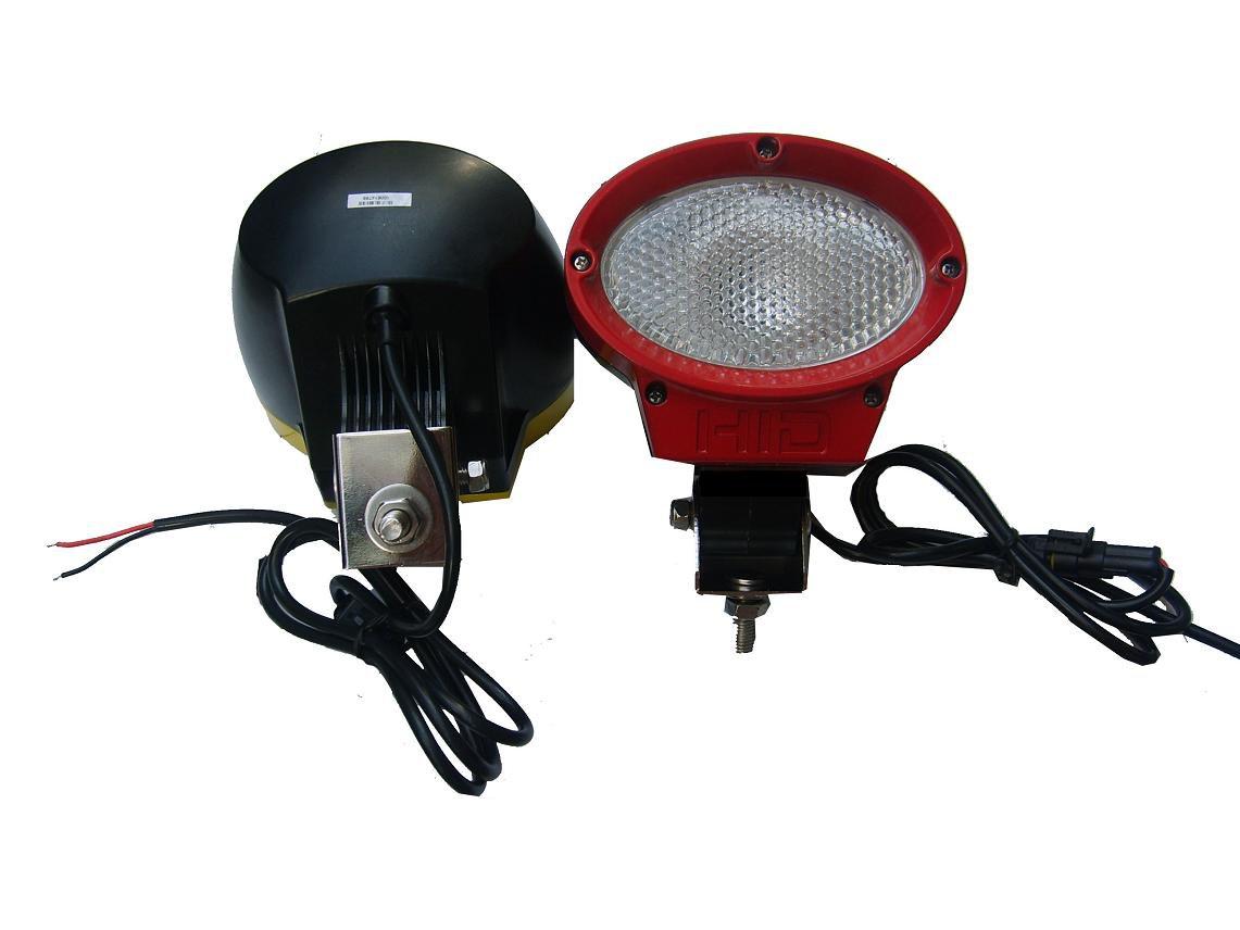 HID oval Work light flood beam/spot beam