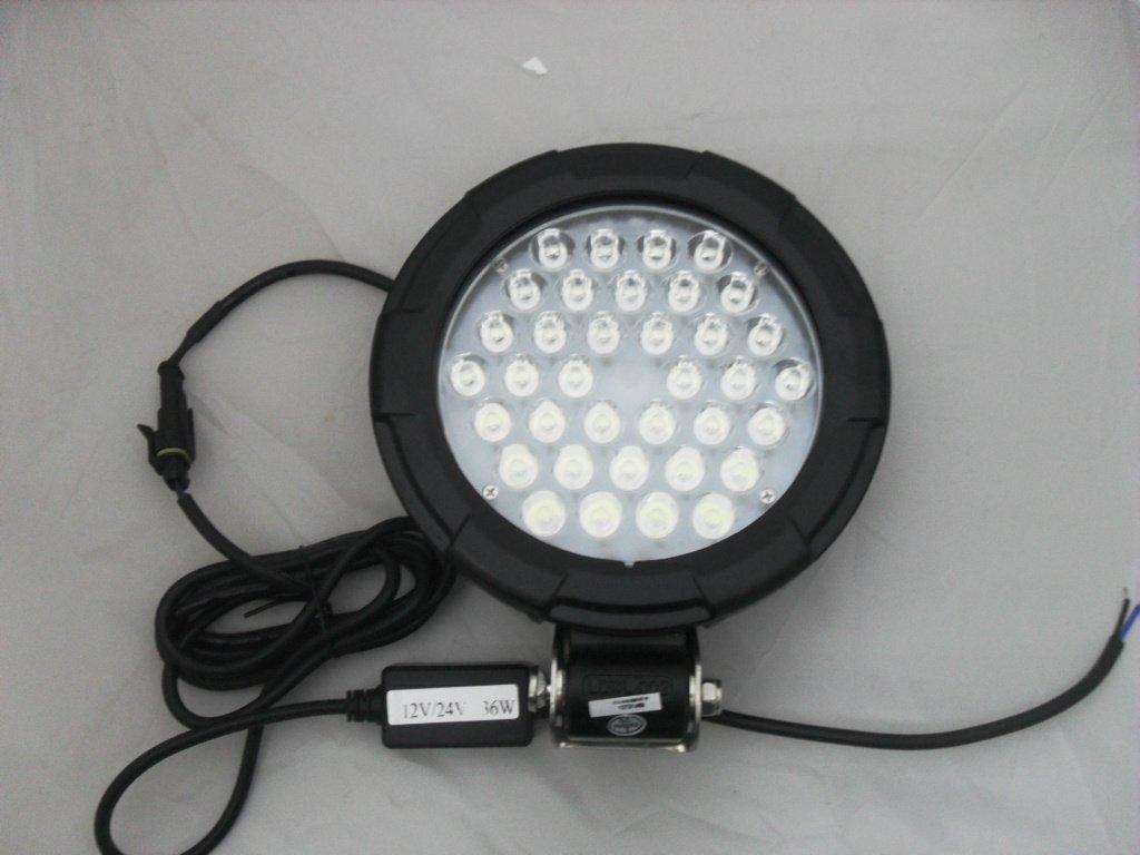2pcs/lot 36W LED Work lamp/LED Work Spot Light Off road 4X4 driving light