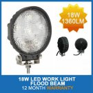 Special Price 18W 12V/24V LED Flood Work Light Heavy Duty truck trailer ATV Tractor