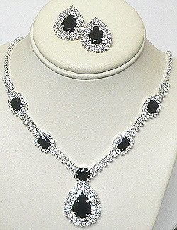 AUSTRIAN CRYSTAL NECKLACE SET NKR693