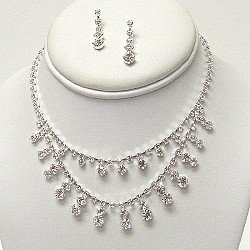 AUSTRIAN CRYSTAL NECKLACE SET NKR436