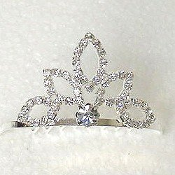 CHILD'S TIARA COMB TIA254