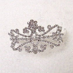 SMALL DOUBLESIDED TIARA COMB TIA248