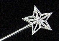 RHINESTONE STAR SCEPTOR TIS7