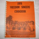 1976 Freedom Singers Cookbook Houston Braeburn Baptist