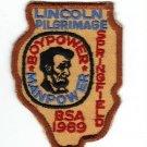 Vintage 1969 Lincoln Pilgrimage Springfield Boypower