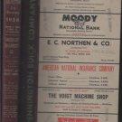 1956 Galveston City Directory Texas