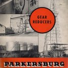 1940s Parkersburg Oil Field Equipment Gear Reducers Gas