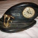Vintage Bowling Trophy Clock