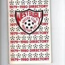 1979-1980 Westbury Soccer Club Houston Texas Directory