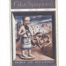 1942 Shaman and Medicineman Ciba Symposia Rogers