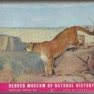1953 DENVER MUSEUM OF NATURAL SCIENCE BOOK COLORADO