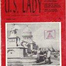 March 1959 US Lady Military Ladies Magazine Castro Cuba