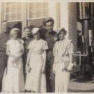 1936 Texaco Station 8 X 10 BW Photo Oil Gas